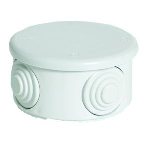 Moulded Enclosures - IP55 round enclosure without terminals - 77mm _ x 40mm H