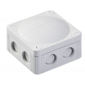 Cable Junction Box - Empty - IP66/67 connector box - grey