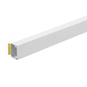 PVC Self Adhesive Mini Trunking - 38mmx25mm, 3m Length