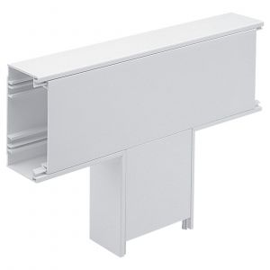 PVC Dado Trunking - 100x50mm - Flat Tee