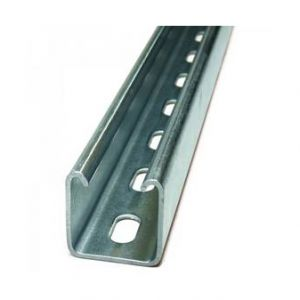 Support Channel - 41 x 41mm slotted 3mtrs