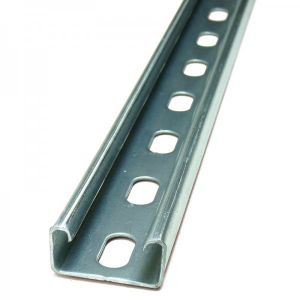 Support Channel - 41 x 21mm slotted 6mtrs