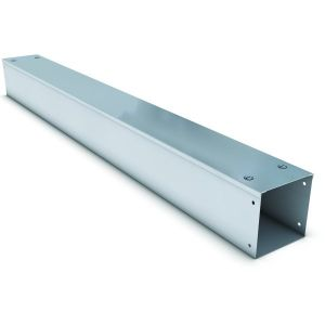 Galvanised Steel Single Compartment Cable Trunking - 50 x 50mm, 3mtr length