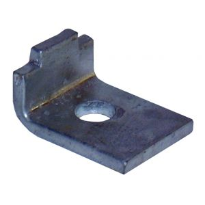 Beam clamp with tongue