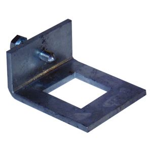 41 x 41mm window bracket c/w cone point