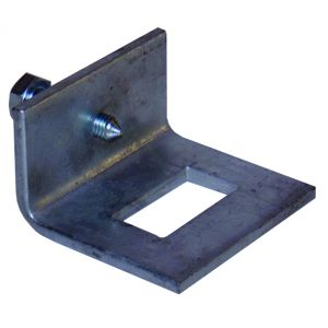 41 x 21mm window bracket c/w cone point