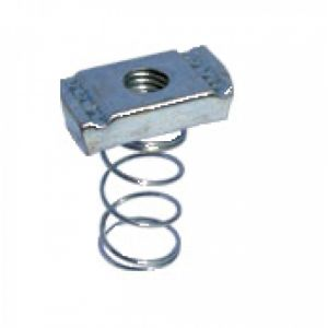 Channel Nuts - M6 long spring nut