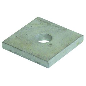 Channel Washers - M10 square plate