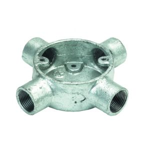 Galvanised Conduit Fittings - Intersection Boxes - 25mm