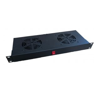 2 way rack mounted fan unit
