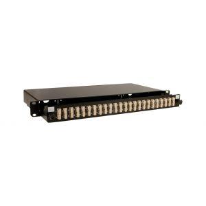 Fibre Panels - 24 port loaded SC panel single mode, duplex