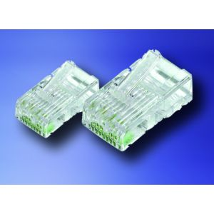 RJ45 plugs for Cat6e pack of 50