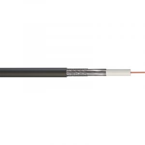 Satellite Coaxial Cable - RG6 Low Loss Aluminium Braid Aluminium Foil